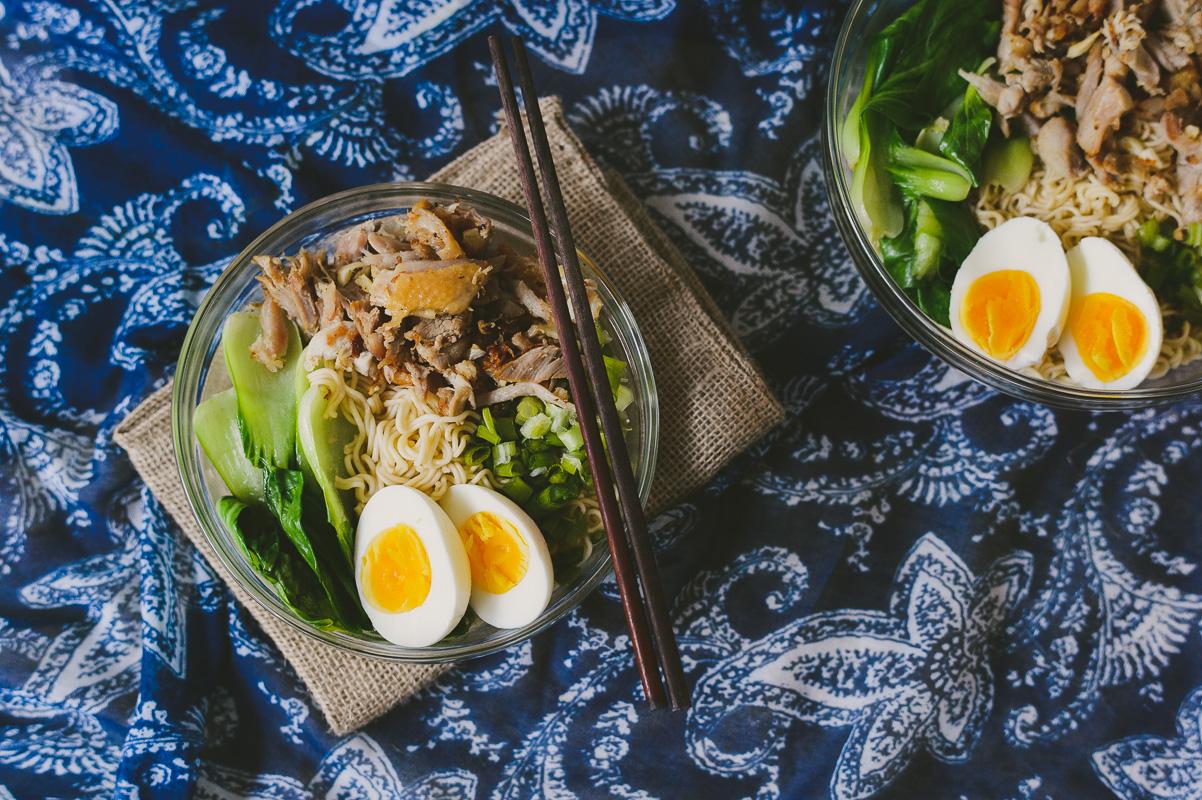 Thanksgiving Leftovers: Garlic Turkey Miso Ramen | Le Jus d'Orange ...