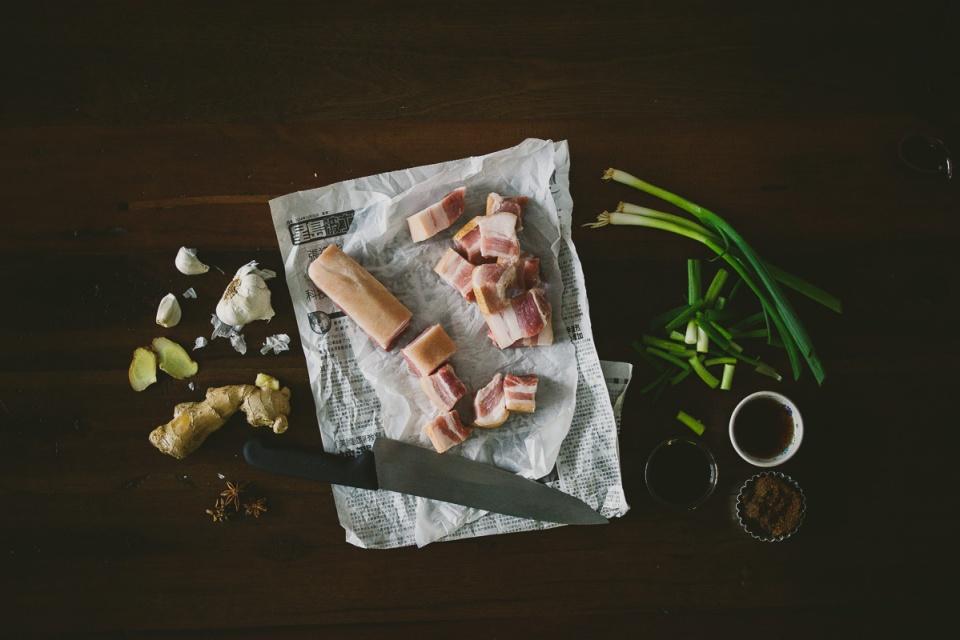 红烧肉 red-braised-pork-hong-shao-rou | le jus d'orange-1