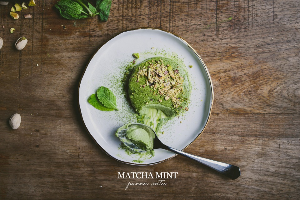 Matcha Mint Panna Cotta | le jus d'orange-15 copy
