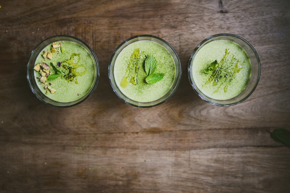 Matcha Mint Panna Cotta | le jus d'orange-4