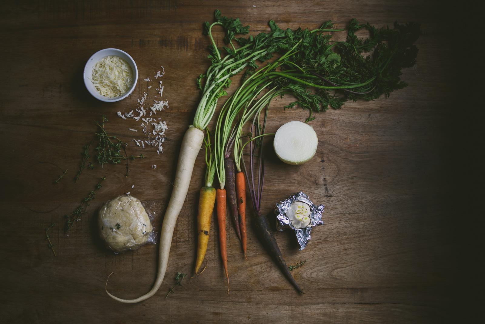 Carrot Daikon Galette | le jus d