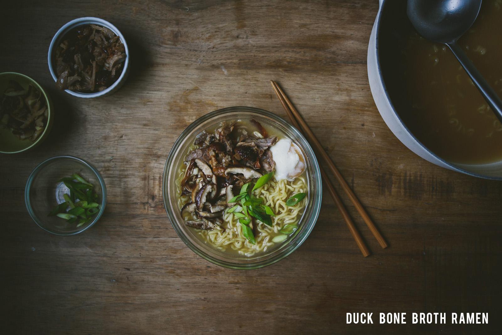 duck bone broth | le jus d