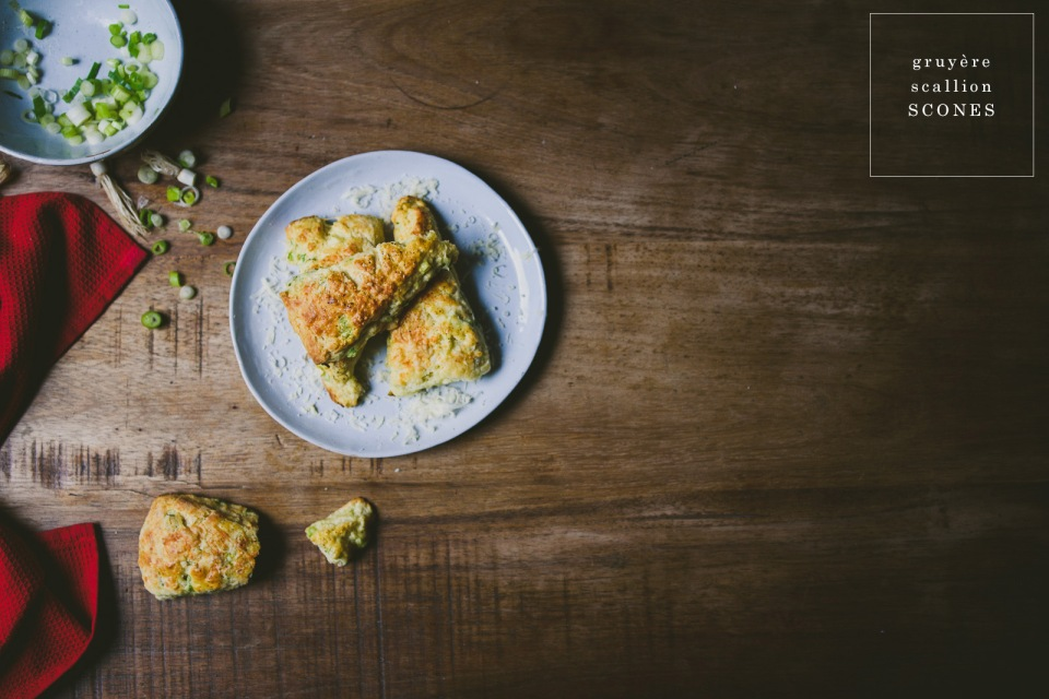 Gruyere Scallion scones | le jus d'orange-13 copy