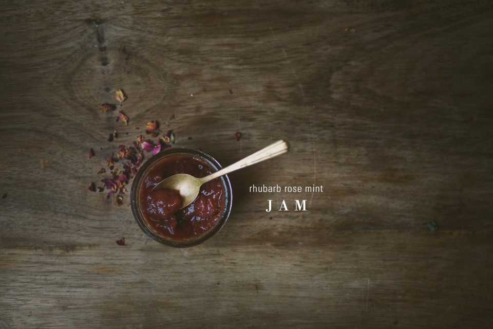 rhubarb-rose-mint-jam | le jus d'orange-2 copy