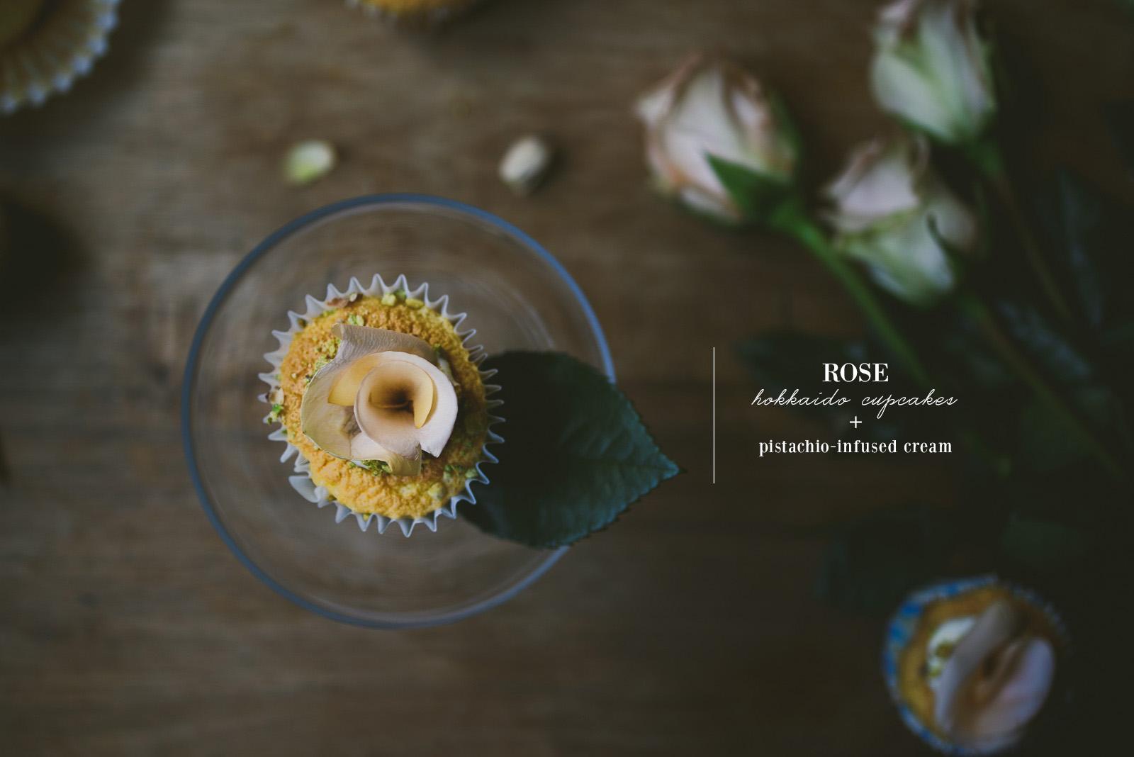 rose hokkaido cupcake | le jus d