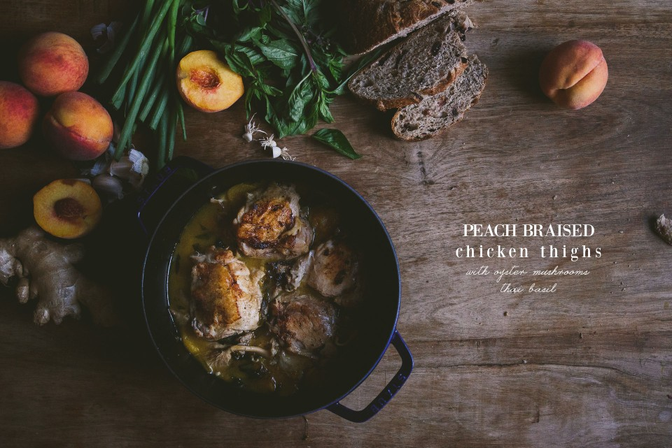 peach-braised-chicken-thighs | le jus d'orange-9 copy